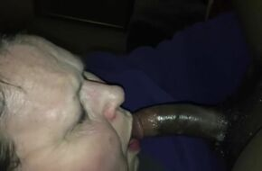 Bbw blowjob swallow